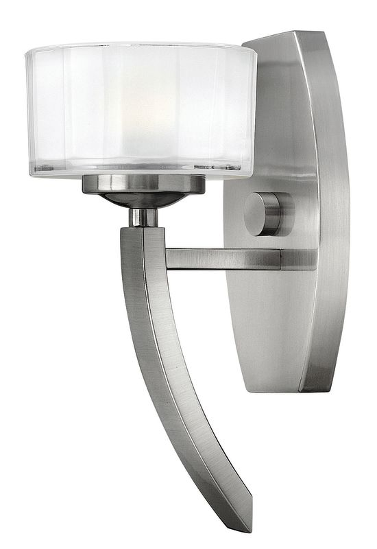 Hinkley 3870BN Brushed Nickel Contemporary Meridian Wall Sconce Sale $109.00 ITEM: bci1399029 ID#:3870BN UPC: 640665387001 :