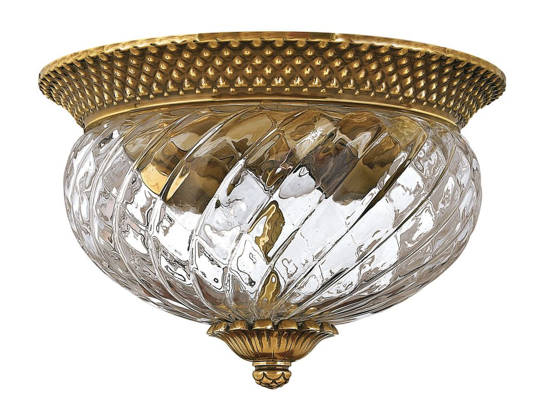 Hinkley Lighting 4102bb Burnished Brass 2 Light Indoor