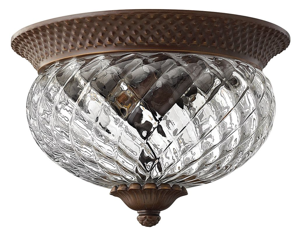 Hinkley Lighting H4102 2 Light Indoor Flush Mount Ceiling Fixture from Sale $259.00 ITEM: bci561783 ID#:4102CB UPC: 640665410211 :