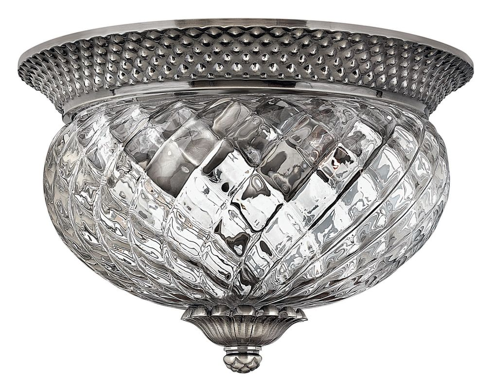 Hinkley Lighting H4102 2 Light Indoor Flush Mount Ceiling Fixture from Sale $185.00 ITEM: bci561781 ID#:4102PL UPC: 640665410228 :