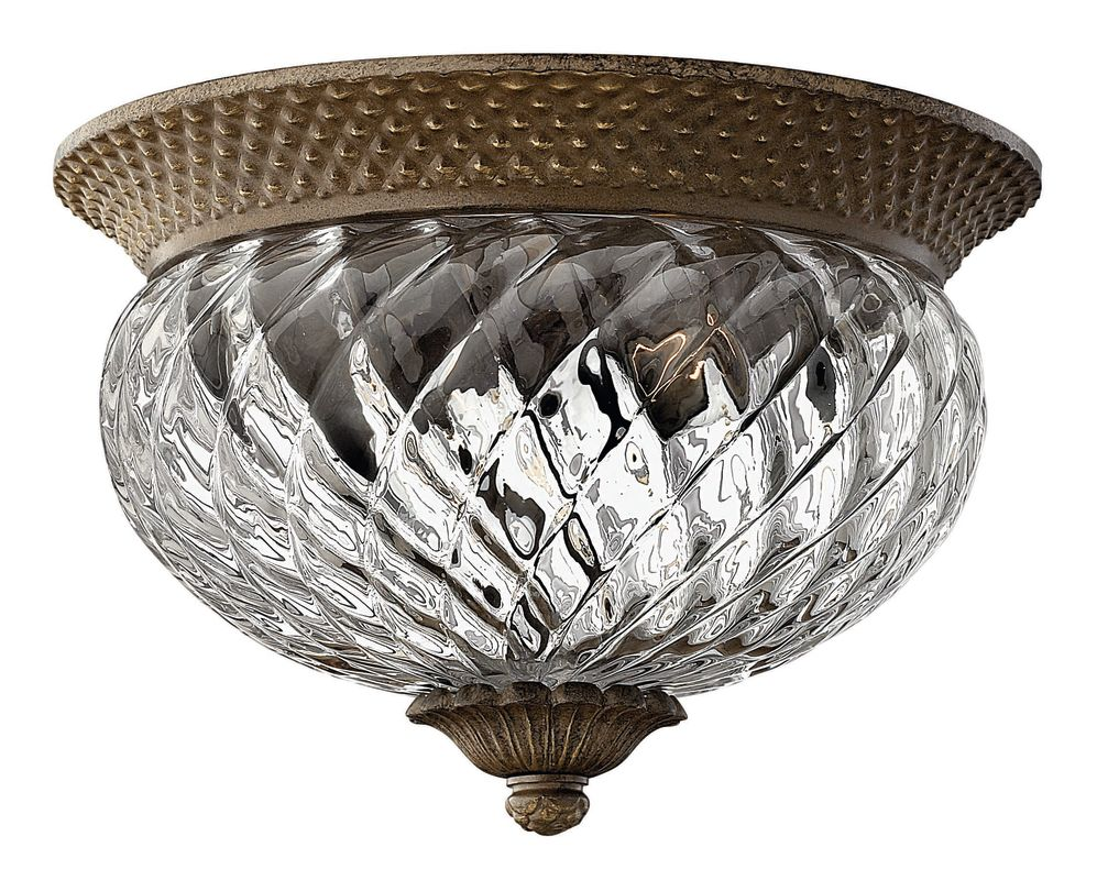 Hinkley Lighting H4102 2 Light Indoor Flush Mount Ceiling Fixture from Sale $179.00 ITEM: bci561782 ID#:4102PZ UPC: 640665410235 :