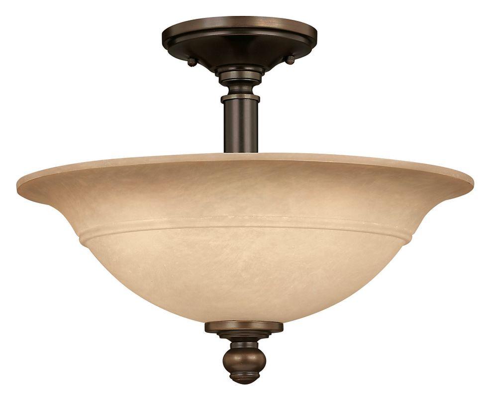 Hinkley Lighting H4242 3 Light Indoor Semi-Flush Ceiling Fixture from Sale $189.00 ITEM: bci311478 ID#:4242OB UPC: 640665424201 :
