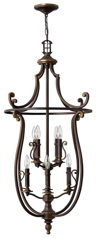 Hinkley Lighting H4258 8 Light Indoor Lantern Pendant from the