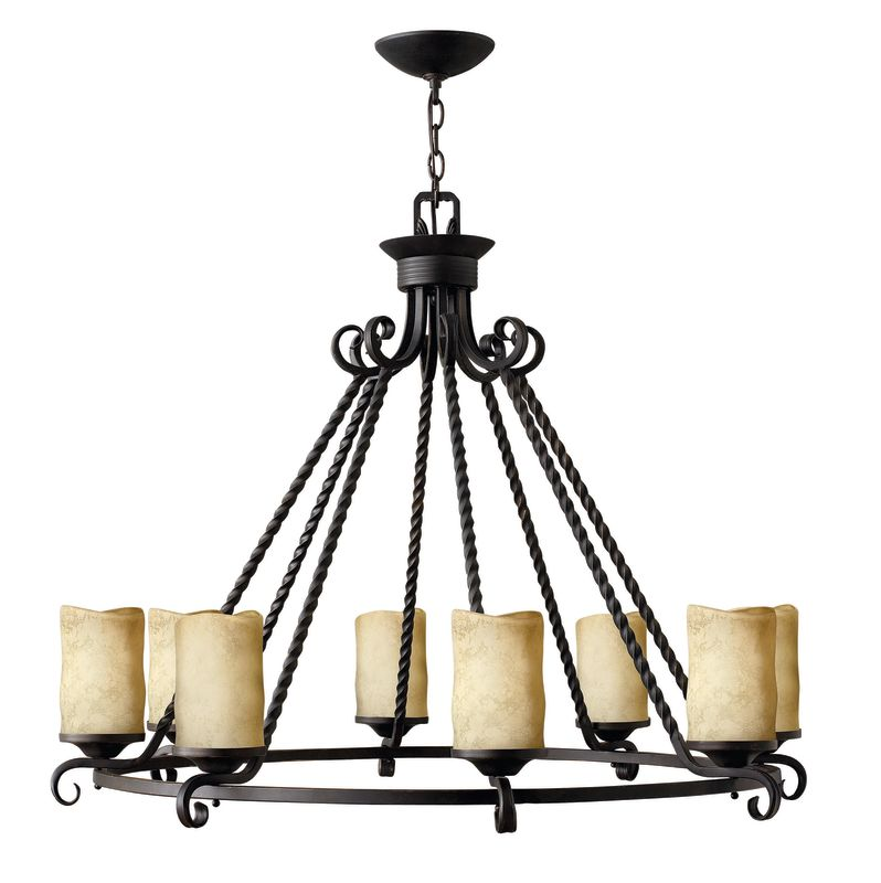 Hinkley Lighting 4308 Casa 8 Light 1 Tier Candle Style Chandelier Olde Sale $1559.00 ITEM: bci1056131 ID#:4308OL UPC: 640665430806 :