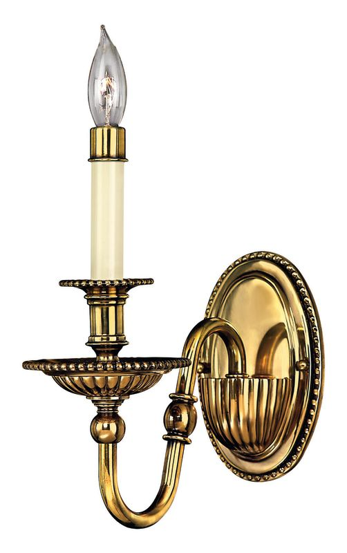 Hinkley Lighting H4410 1 Light Indoor Candle-Style Sconce Wall Sconce