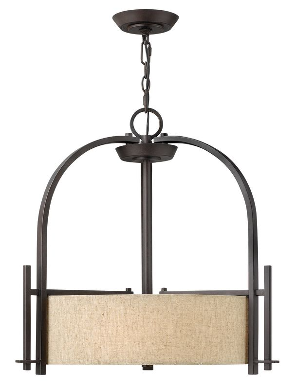 Hinkley Lighting 4542 3 Light Indoor Drum Pendant from the Sloan