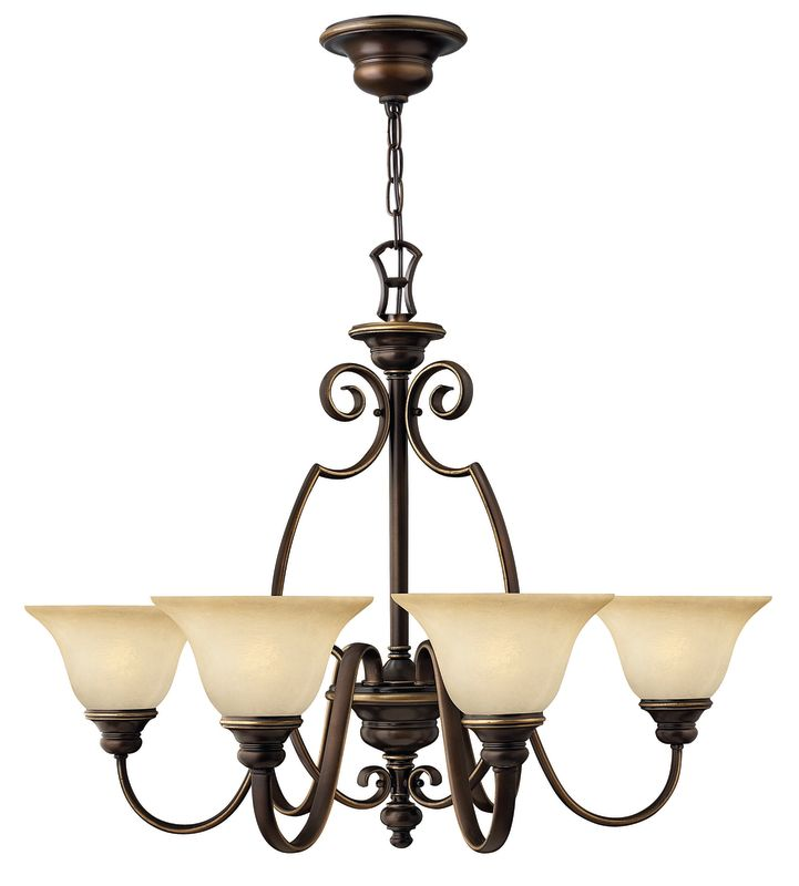 Hinkley Lighting H4566 Cello 6 Light 1 Tier Chandelier Antique Bronze Sale $399.00 ITEM: bci561417 ID#:4566AT UPC: 640665456608 :