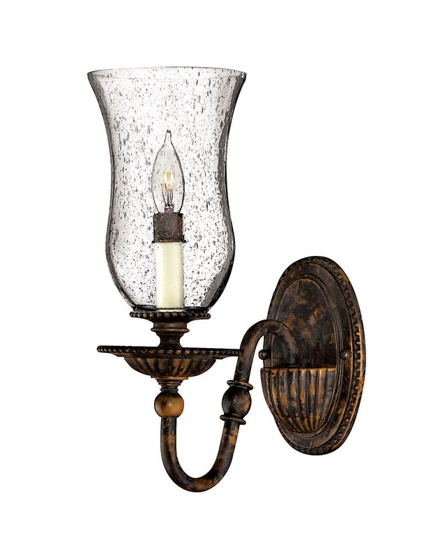 Hinkley Lighting H4620 1 Light Indoor Wall Sconce from the Rockford