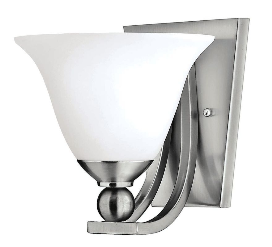 Hinkley Lighting H4650 1 Light Indoor Wall Sconce from the Bolla Sale $99.00 ITEM: bci311638 ID#:4650BN UPC: 640665465013 :
