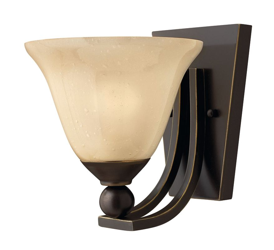 Hinkley Lighting H4650 1 Light Indoor Wall Sconce from the Bolla Sale $99.00 ITEM: bci311639 ID#:4650OB UPC: 640665465020 :