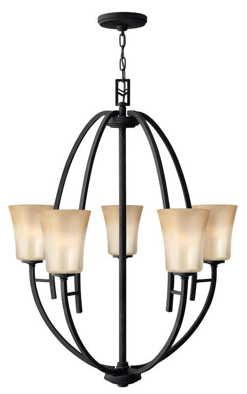 Hinkley Lighting 4705vk Vintage Black Valley 5 Light 1