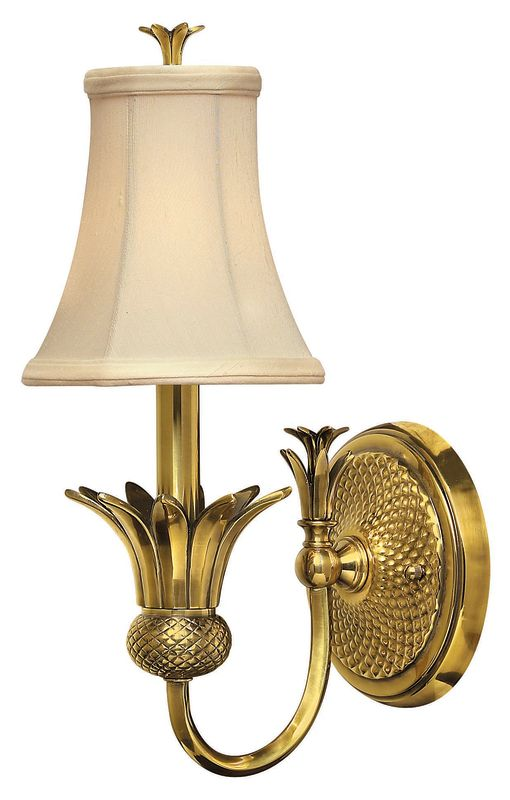 Hinkley Lighting H4880 1 Light Indoor Wall Sconce from the Plantation Sale $189.00 ITEM: bci311759 ID#:4880BB UPC: 640665488012 :
