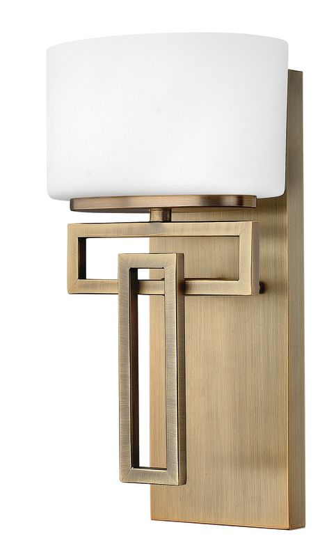 Hinkley Lighting 5100 1 Light Bathroom Sconce from the Lanza