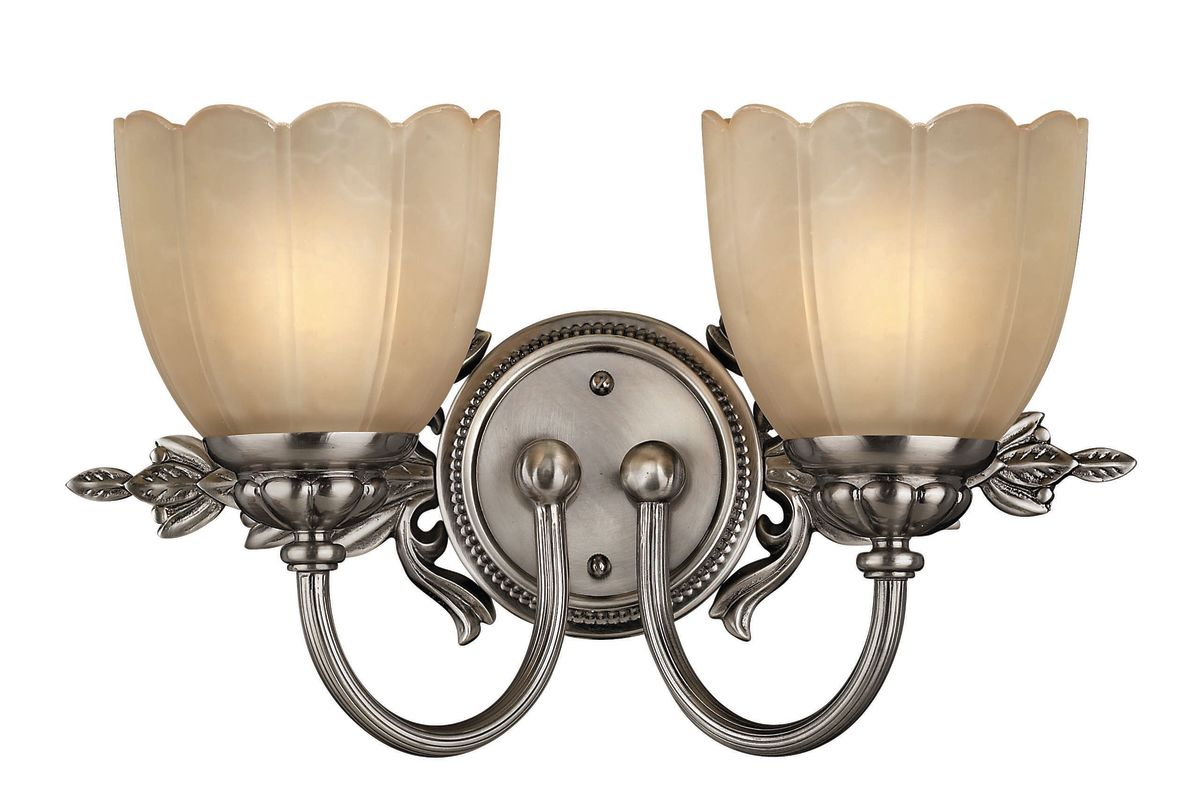 "Hinkley Lighting H5392 2 Light 16.75"" Width Bathroom Vanity Light from"