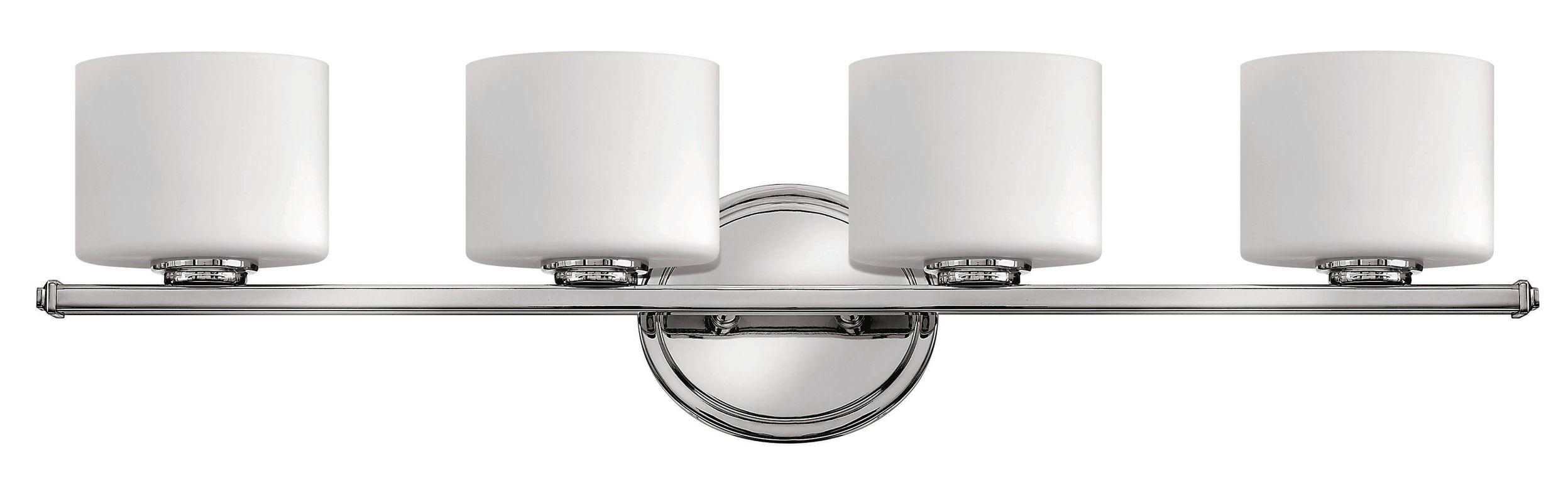 Hinkley Lighting 5424CM Chrome Contemporary Ocho Bathroom Light