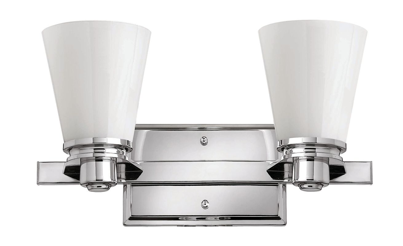 "Hinkley Lighting H5552 2 Light 14.5"" Width Bathroom Vanity Light in"