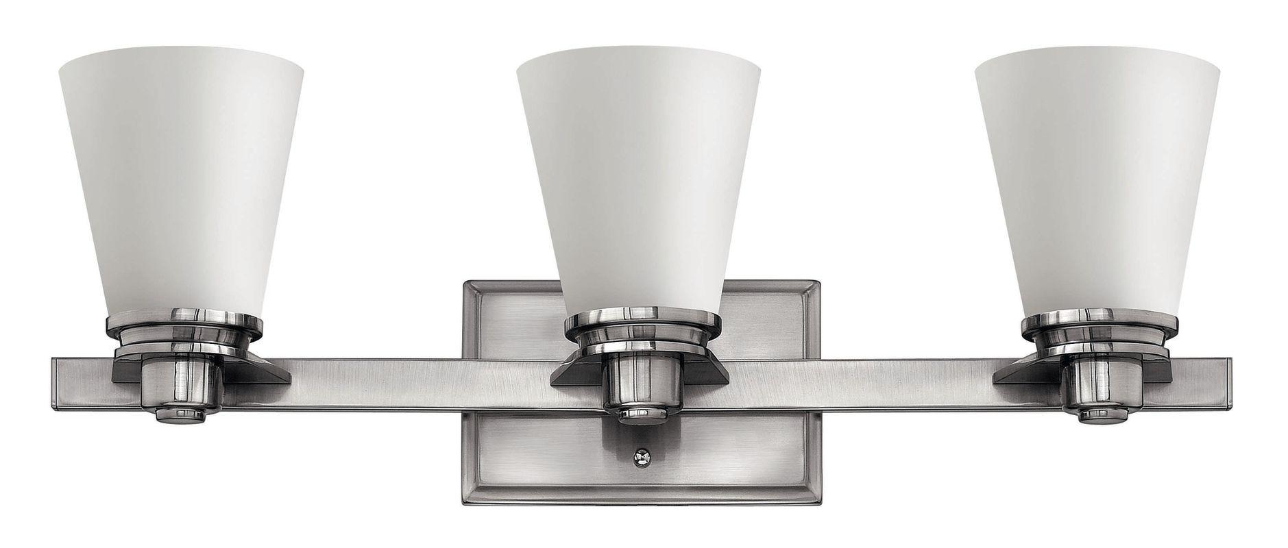 Hinkley Lighting 5553 3 Light Bathroom Vanity Light from the Avon