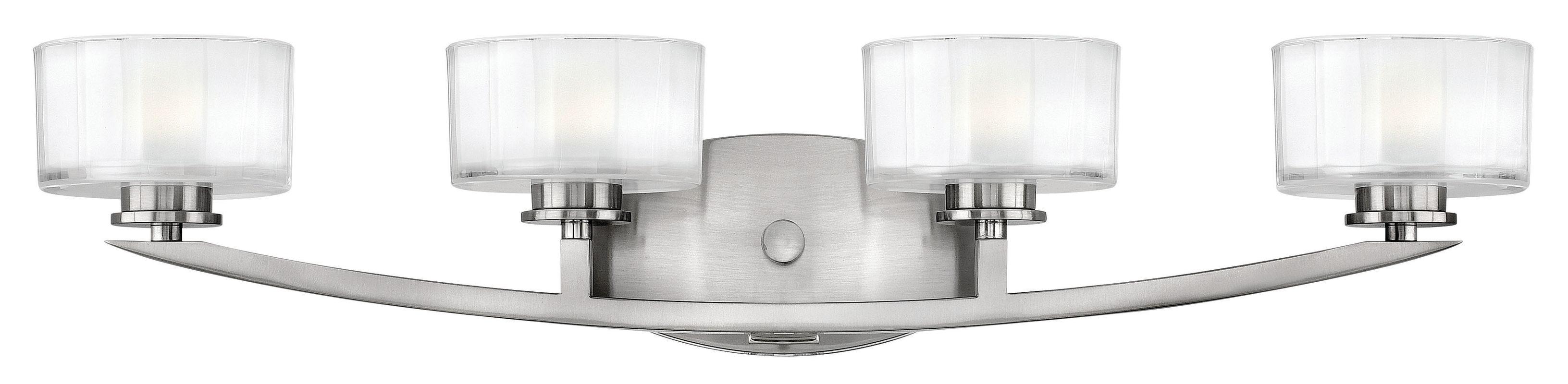 Hinkley 5594BN Brushed Nickel Contemporary Meridian Bathroom Light