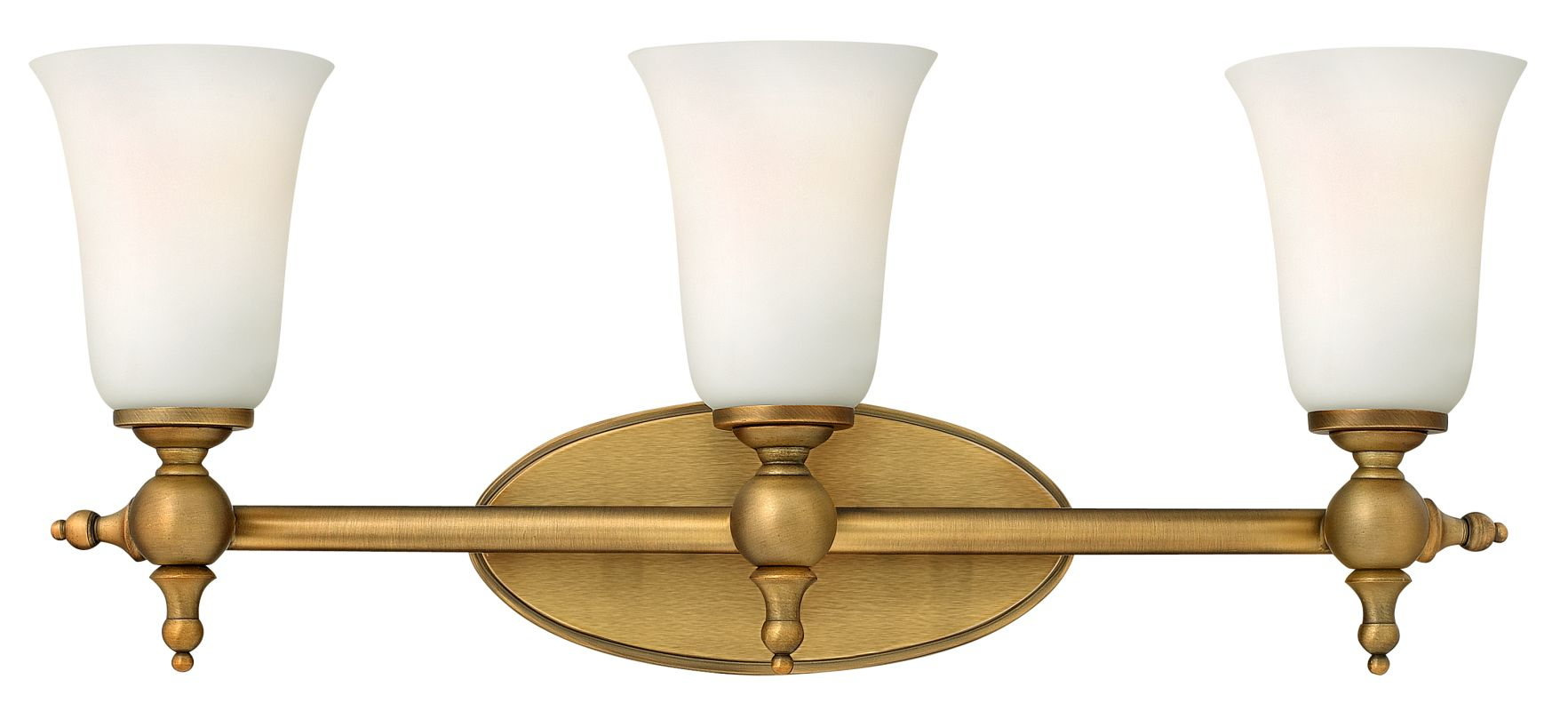 "Hinkley Lighting 5743 3 Light 23.75"" Width Bathroom Vanity Light from"