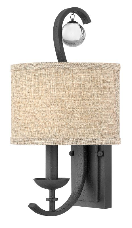 Hinkley Lighting 8471SH Oatmeal Linen Shade for Hinkley Lighting 4470
