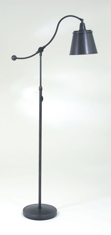 House of Troy HP700-MS Swing Arm Floor Lamp from the Hyde Park