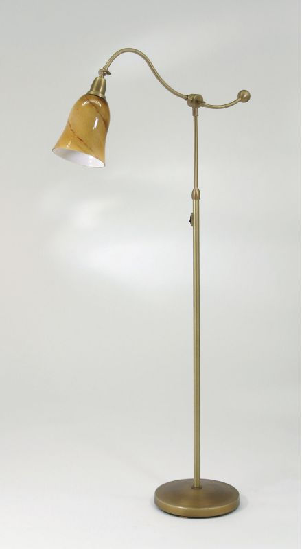 House of Troy HP700-AG Swing Arm Floor Lamp from the Hyde Park