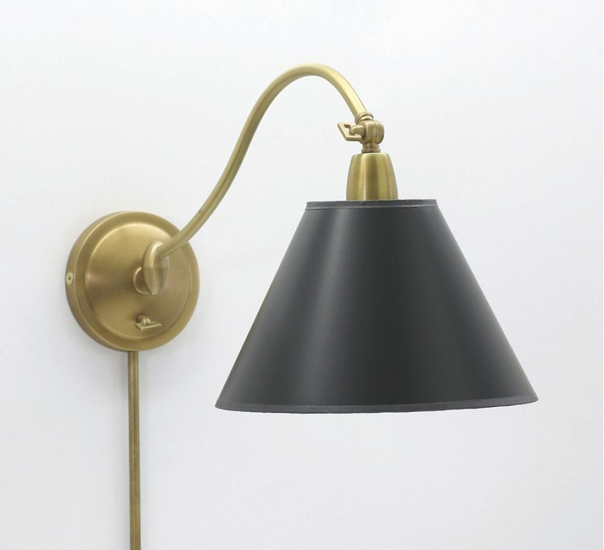 House of Troy HP725-BP Down Lighting Wall Sconce from the Hyde Park Sale $220.00 ITEM: bci313725 ID#:HP725-WB-BP UPC: 753174046007 :
