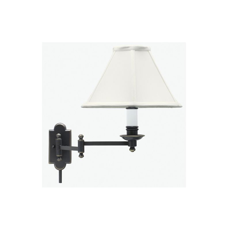 House of Troy CL225 Swing Arm Wall Lamp Oil Rubbed Bronze Indoor