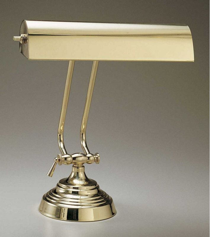 "House of Troy P10-131 10"" Piano / Desk Lamp Polished Brass Lamps Piano"