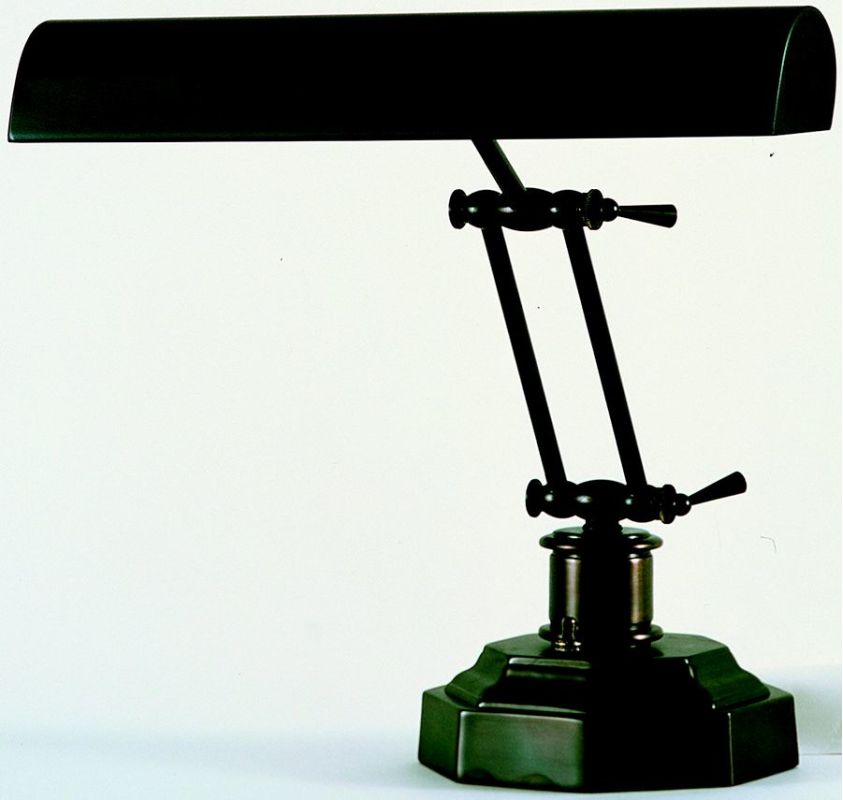 House of Troy P14-203 Piano / Desk 1 Light Piano Lamp Octagonal Base