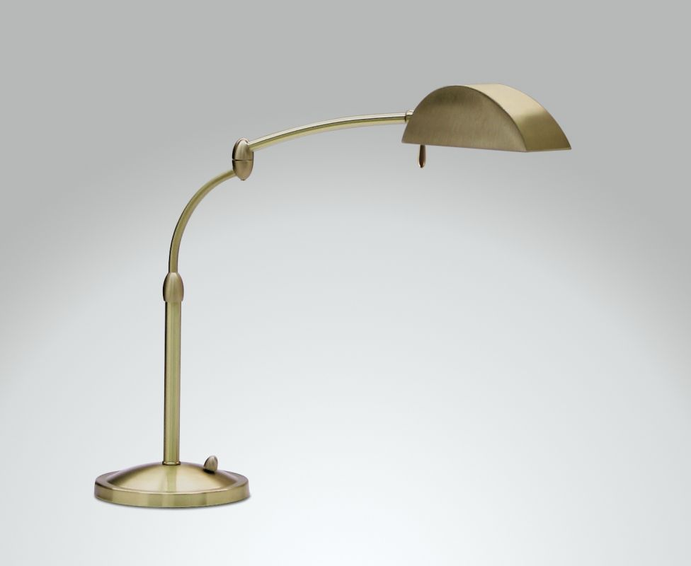 House of Troy V501 Desk Lamp from the Vision Lamp Collection Antique