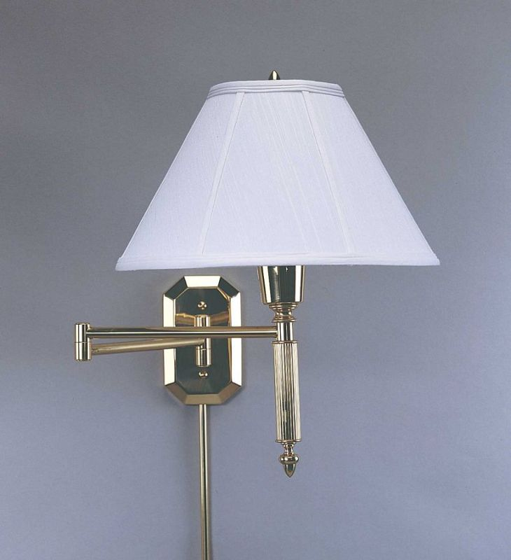 House of Troy WS-706 Swing Arm Wall Sconce from the Wall Swing Arm Sale $250.00 ITEM: bci380210 ID#:WS-706 UPC: 753174001570 :