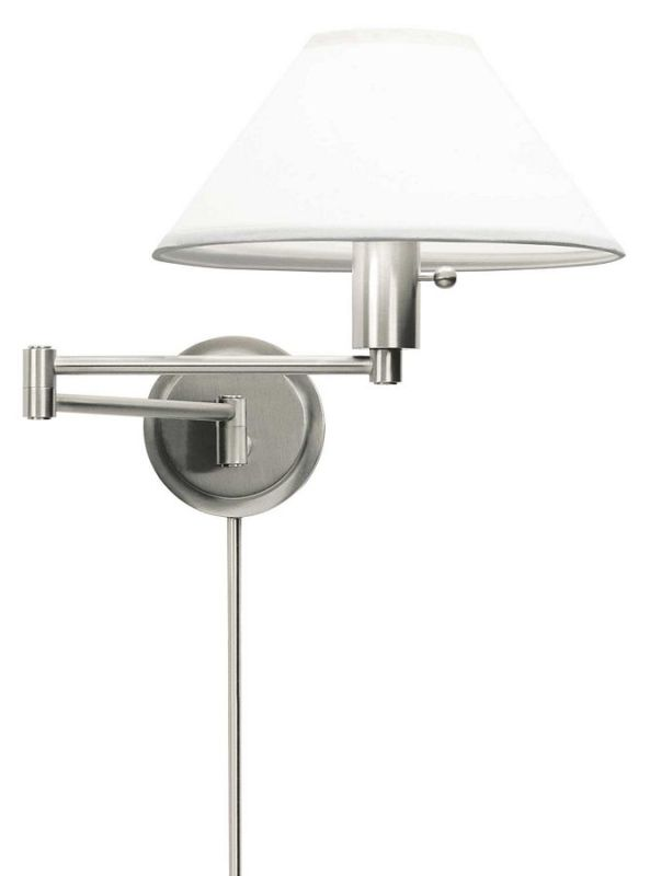 House of Troy WS14 Swing Arm Wall Sconce from the Wall Swing Arm Lamps Sale $179.00 ITEM: bci380294 ID#:WS14-52 UPC: 753174008111 :