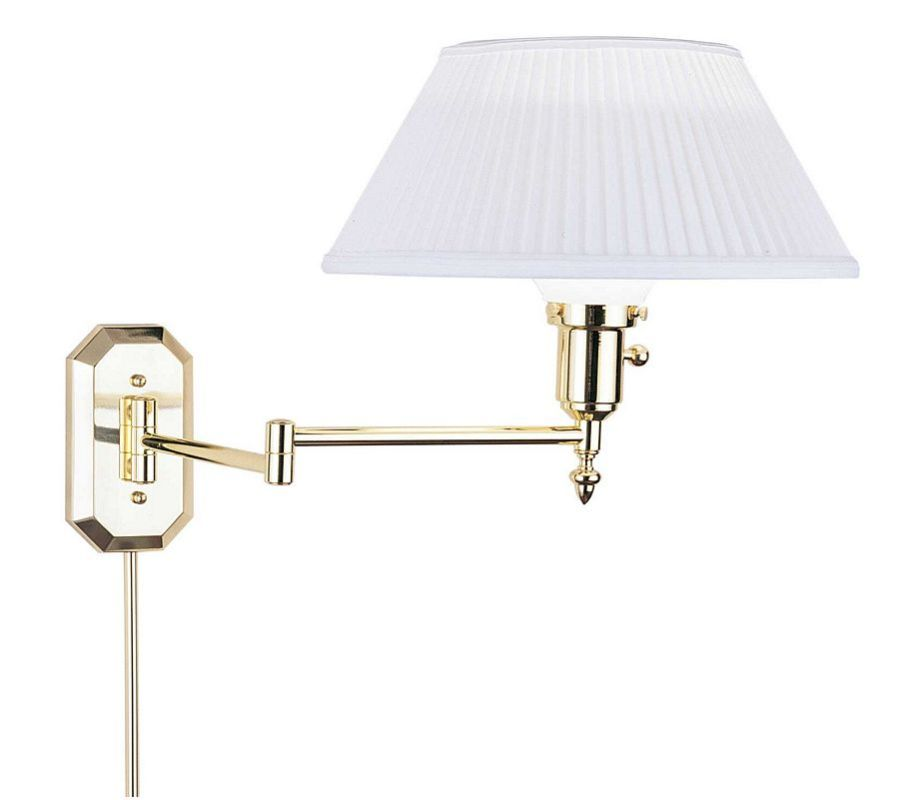 House of Troy WS-704 Swing Arm Wall Sconce from the Wall Swing Arm