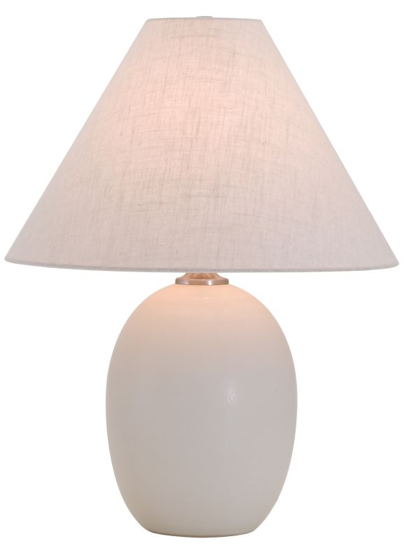 "House of Troy GS140 Scatchard 22.5"" 1 Light Table Lamp with Linen"