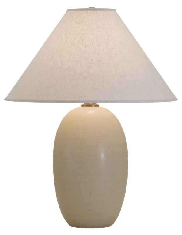 """House of Troy GS150 Scatchard 28.5"""" 1 Light Table Lamp with Linen"""