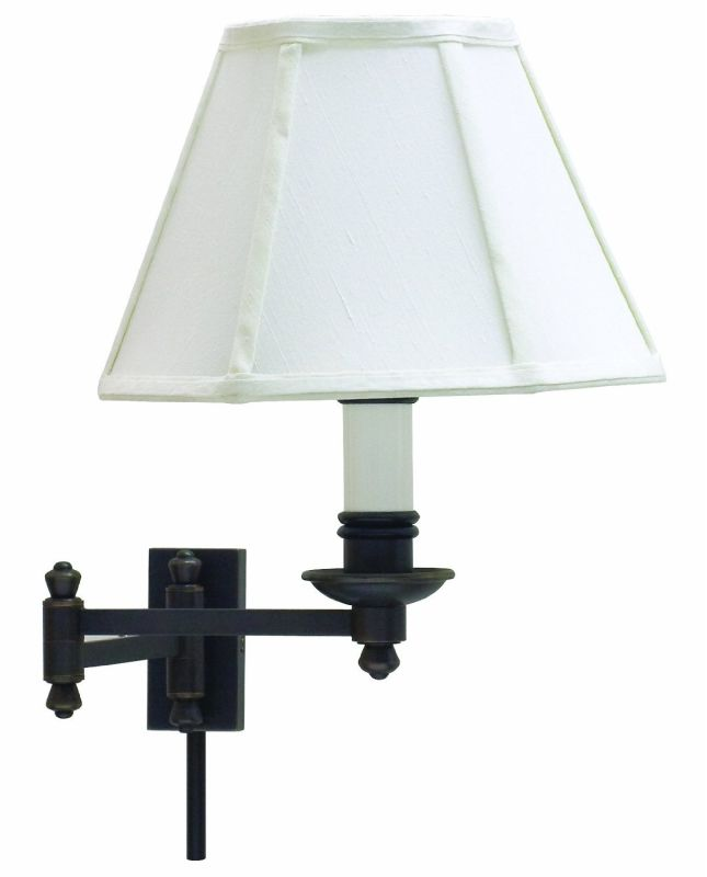 House of Troy LL660 Swing Arm Wall Sconce from the Library Lamps