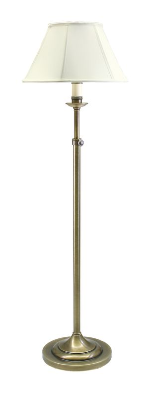 House of Troy CL201 Club 1 Light Floor Lamp with Adjustable Height