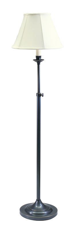 House of Troy CL201 Club 1 Light Floor Lamp with Adjustable Height Oil