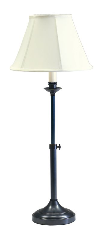 House of Troy CL250 Club 1 Light Table Lamp with Adjustable Height Oil