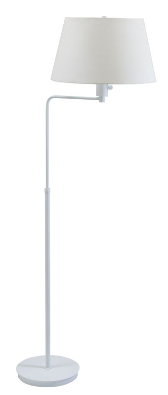 House of Troy G200 Generation 1 Light Adjustable Floor Lamp White