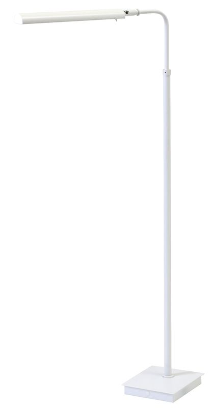 House of Troy G300 Generation 1 Light LED Pharmacy Floor Lamp White