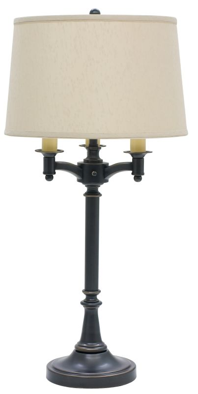 House of Troy L850 Lancaster Six Way Table Lamp Oil Rubbed Bronze