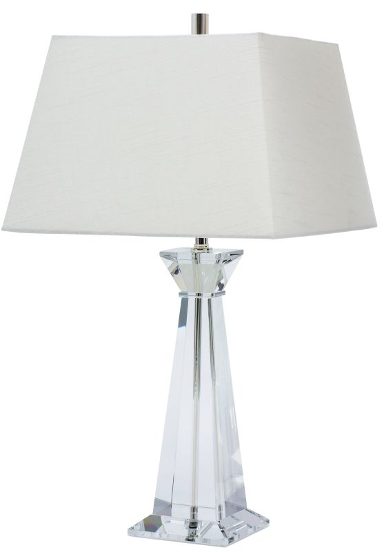 House of Troy M551 Marquis 1 Light Solid Crystal Table Lamp Crystal