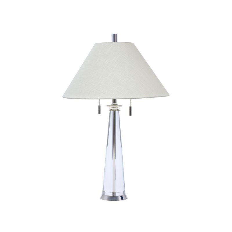 House of Troy M552 Marquis 2 Light Solid Crystal Table Lamp Crystal /