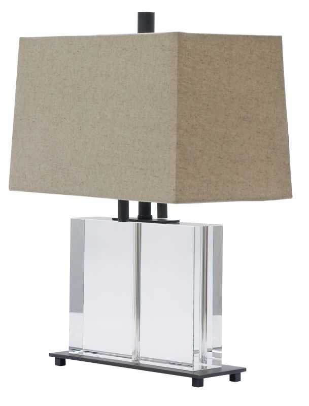 House of Troy M554 Marquis 2 Light Solid Crystal Table Lamp with