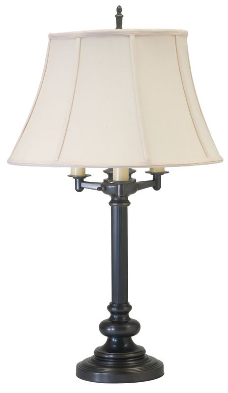 House of Troy N650 Newport 4 Light Table Lamp with Off-White Shade Oil Sale $315.00 ITEM: bci1961662 ID#:N650-OB UPC: 753174052565 :