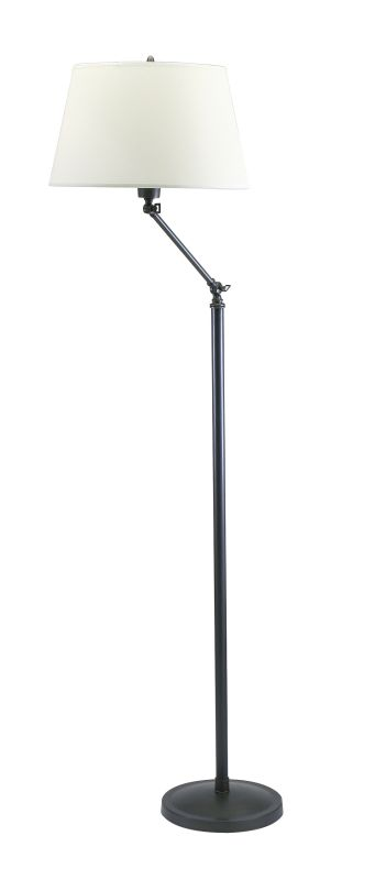 House of Troy OL600 Lincoln 1 Light Floor Lamp with Adjustable Height