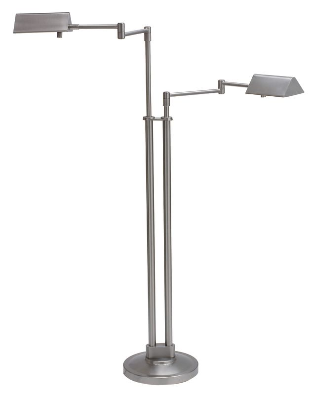 House of Troy PIN400-2 Pinnacle 2 Light Adjustable Double Swing Arm