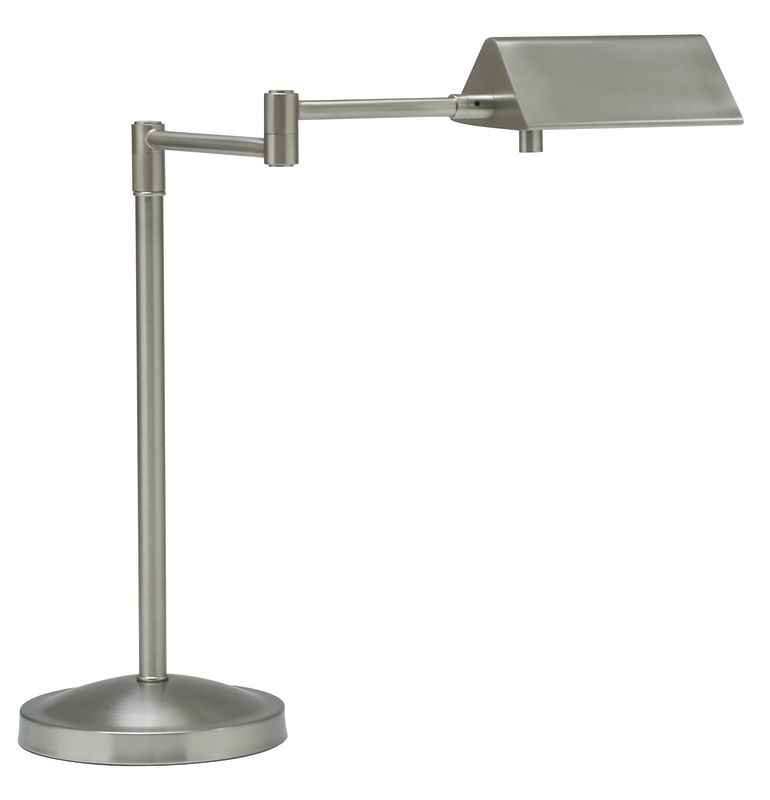 House of Troy PIN450 Pinnacle 1 Light Swing Arm Table Lamp Satin